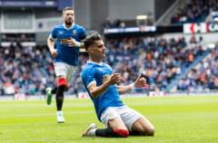 Ianis Hagi, din nou în centrul atenției în Scoția! Fază de senzație făcută de fotbalistul român pentru Rangers VIDEO
