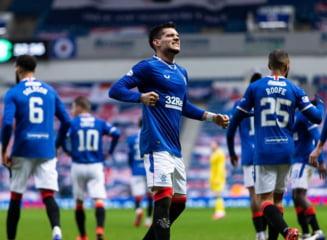 Ianis Hagi, din nou rezerva la Glasgow Rangers. Cat a jucat romanul in acest sezon