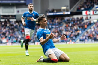 Ianis Hagi, gol fabulos chiar la primul meci al sezonului din Scoția! Adversarii s-au enervat și l-au accidentat dur pe fotbalistul român VIDEO