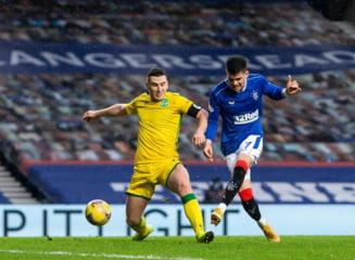 Ianis Hagi, magistral in victoria lui Rangers. Romanul a dat pasa de gol in ultimul meci al anului