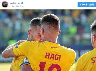 Ianis Hagi, ridicat in slavi de UEFA dupa victoria cu Croatia
