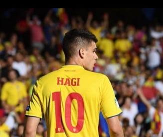 Ianis Hagi viseaza la tricoul cu numarul 10 la echipa nationala