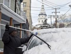 Iarna grea in SUA: 23 de morti intr-o saptamana