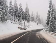 Iarna in plina toamna: Zapada atinge si 25 de cm in unele zone (Foto&Video)