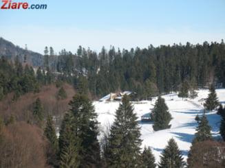 Iarna in toata regula: Stratul de zapada e de 39 de cm la Balea Lac