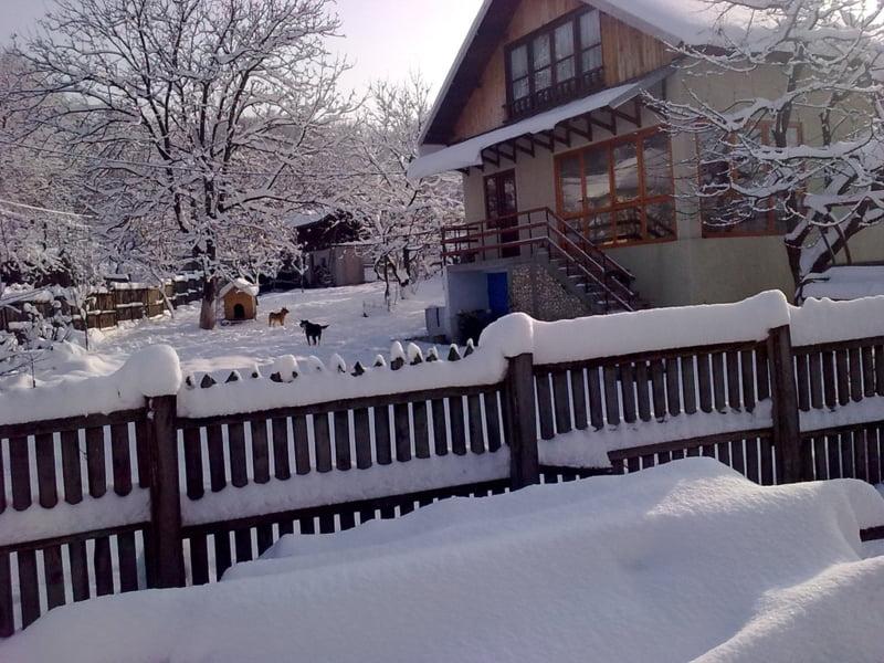 Iarna la Dobresti