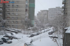 Iarna nu pleaca: Cod portocaliu de ninsori, inclusiv pentru Bucuresti