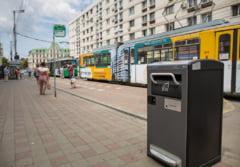 Iasi: Municipalitatea a achizitionat 30 de cosuri de gunoi stradale cu GPS si capacitate de recunoastere a vandalilor