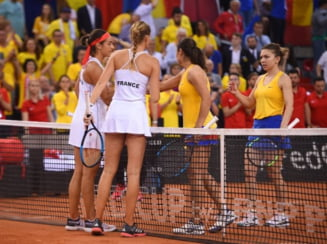 Iata ce-au declarat Kristina Mladenovic si Caroline Garcia dupa victoria in fata Romaniei, in semifinalele Fed Cup