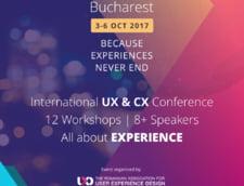 Iata ce se va intampla la UX Bucharest 2017 - Conferinta Internationala User Experience Design, 2nd Edition