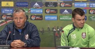 Iata ce spune Dan Petrescu dupa ce a fost criticat de un jucator de la CFR Cluj