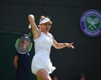 Iata ce spune Simona Halep despre meciul cu Azarenka de la Wimbledon