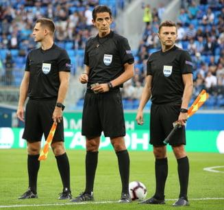 Iata cine arbitreaza duelul Romania - Spania, din preliminariile Euro 2020
