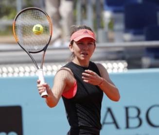 Iata cu cine va juca Simona Halep in semifinale la Madrid: S-au mai intalnit de 6 ori