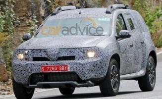 Iata cum arata noua Dacia Duster (Foto spion)