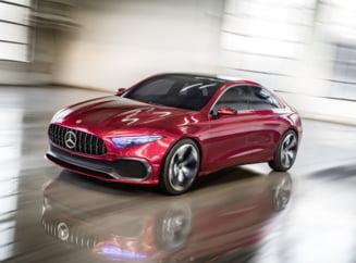 Iata cum arata noul Mercedes-Benz Concept A Sedan (Video)