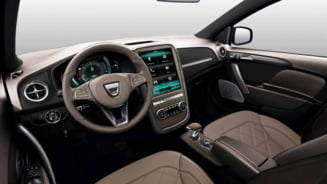 Iata cum va arata interiorul viitorului Dacia Sandero