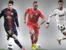 """Iata finalistii la titlul de """"Jucatorul anului in Europa"""""""