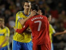 Ibrahimovici se compara cu Cristiano Ronaldo