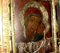 "Icoana ""facatoare de minuni"" de la Ghighiu, adusa la Biserica Icoanei"