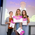 Ideea castigatoare a trei eleve de liceu din Cluj: Transforma PET-urile din rauri in bijuterii