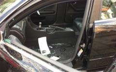 Iesenii au scapat de un golan care spargea masini in zona Dacia-Pacurari