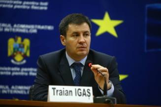 Igas, despre Guvernul Ponta si scindarea MAI: O harababura, au creat functii