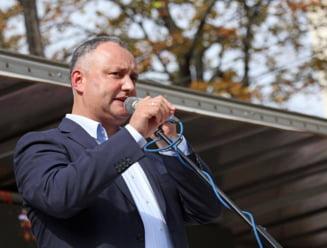 Igor Dodon: Unirea cu Romania inseamna razboi civil!