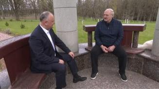"Igor Dodon, catre dictatorul Lukasenko: ""Dumneavoastra ne-ati aratat un exemplu"" VIDEO"