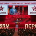 Igor Dodon si Vladimir Plahotniuc saluta victoria PSD din alegerile parlamentare