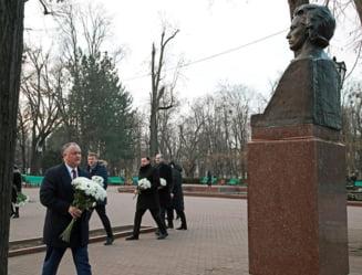 Igor Dodon sustine ca Mihai Eminescu este moldovean