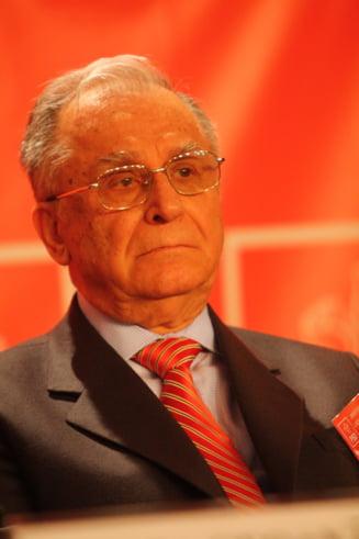 Iliescu: Daca eram presedinte, il gratiam pe Nastase