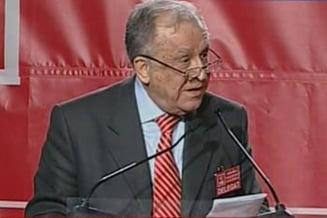 Iliescu: PSD nu are nevoie sa fie reanimat de un batranel de 80 de ani (Video)