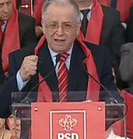 Iliescu: Sa serbam 20 de ani de la Revolutie cu un nou presedinte