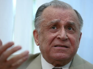 Iliescu, despre excluderea lui Geoana: Vedem, discutam cu calm