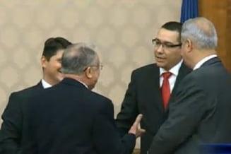 Iliescu,despre demisia lui Ponta: Nu luati de bun tot ce spune omul la suparare