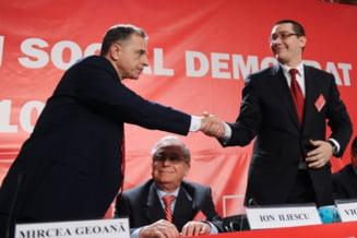 Iliescu exclus si Geoana reprimit in PSD? - ce spune Ponta