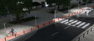 Iluminat public modern, la Beclean, cu fonduri europene