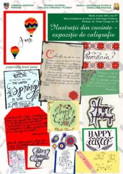 Ilustratii din cuvinte - expozitie de caligrafie