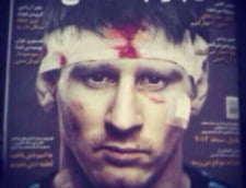 Imagine incredibila in presa iraniana: Messi, plin de sange!