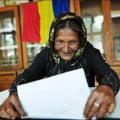 Imaginea Romaniei la vot, in viziunea BBC: O batrana de etnie rroma