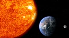 Imaginea istorica cu Pamantul vazut de la Soare