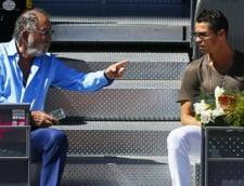 Imaginea zilei: Cum au fost surprinsi Ion Tiriac si Cristiano Ronaldo