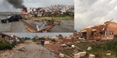 "Imagini apocaliptice in Cehia. O tornada a maturat mai multe localitati: ""Era sange peste toti"" VIDEO"