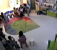 ... cu copii batuti intr-o gradinita din Romania, in presa straina (Video