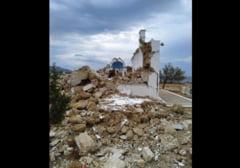 """Imagini de coșmar ale cutremurului care a avut loc în Creta: """"Încă simțim replici"""" VIDEO"""