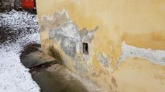 Imagini de cosmar intr-o clinica de pediatrie din Cluj. Pereti plini de mucegai si bacterii (Foto & Video)