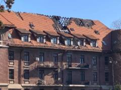 Imagini deplorabile cu Hotelul Triumf din Capitala, considerat monument istoric, facute publice de Clotilde Armand: Toata conducerea RAPPS trebuie zburata