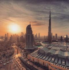 Imagini din interiorul hotelului care a luat foc in Dubai: Luxul, la el acasa (Galerie foto)