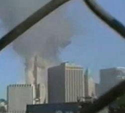 Imagini nedifuzate cu prabusirea World Trade Center (Video)